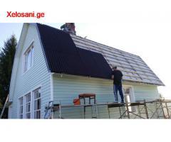 სახურავის დახურვა, დაზიანებული სახურავის შეკეთება