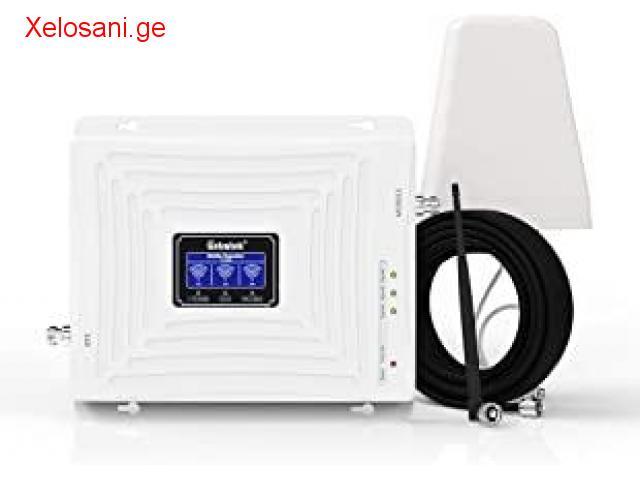GSM გამაძლიერებელი-რეტრანსლატორის მონტაჟი