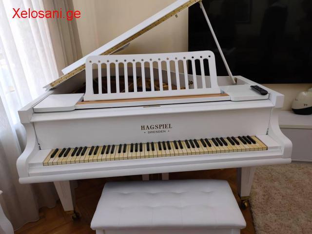 პიანინოს აწყობა რესტავრაცია