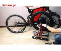 ელექტრო ველოსიპედების შეკეთება კონტროლერების და დამტენების რემონტი