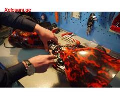 ჰოვერბორდის და ელექტრო სკუტერის შეკეთება